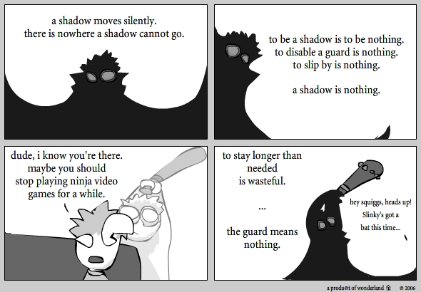 a shadow is…