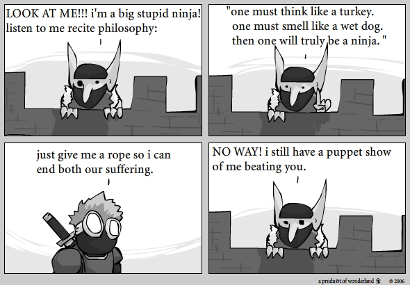 ninja vs goblin : wannabe