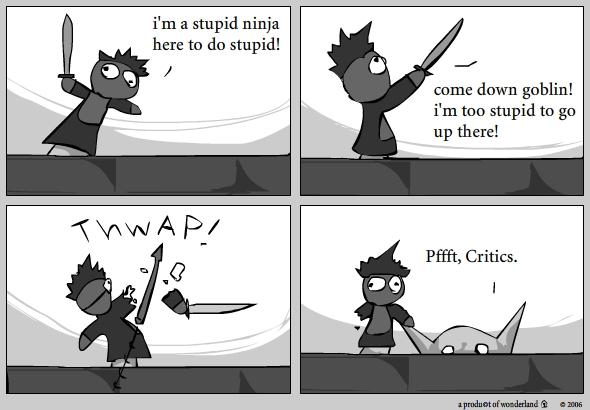 Goblin vs Critic