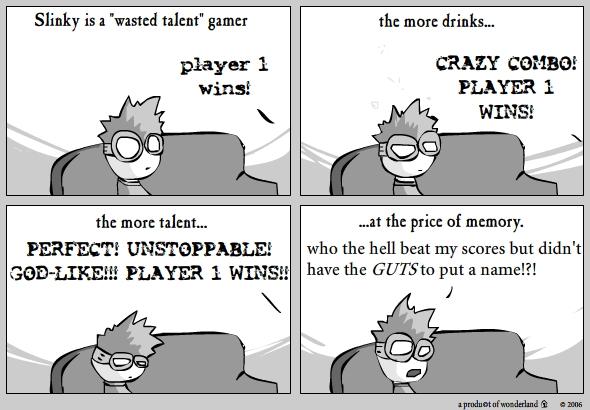 gamer: Slinky