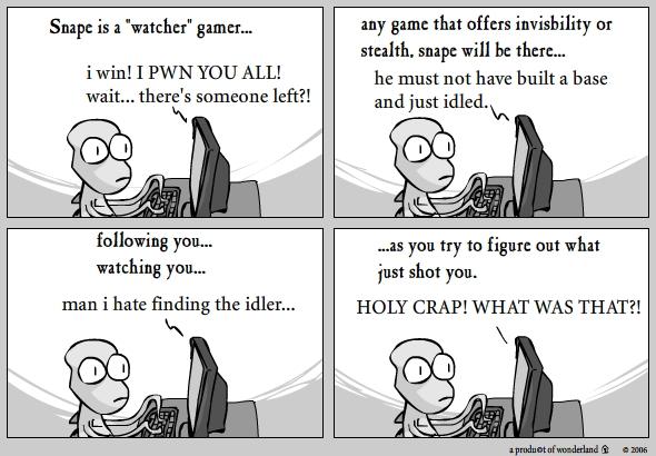 Gamer: Snape
