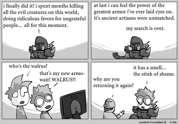 Walrus armor