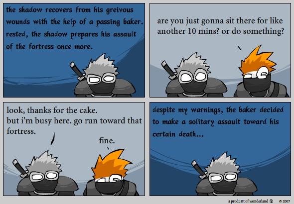 ninja vs baker