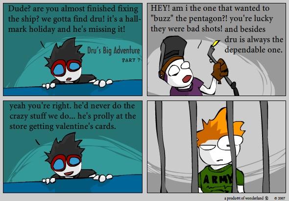 Dru's big adventure pt.7 / valentines