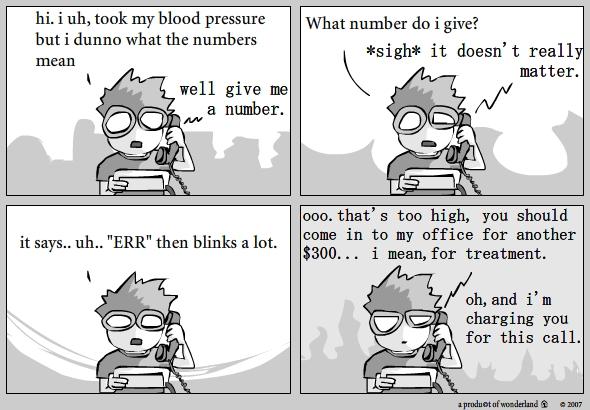 Blood pressure and Quackery