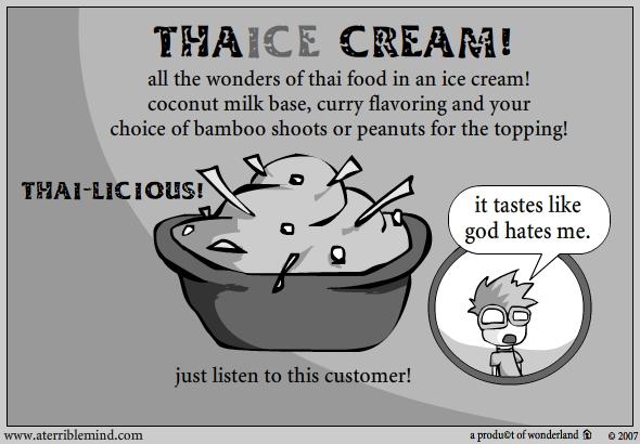 THAIce cream!