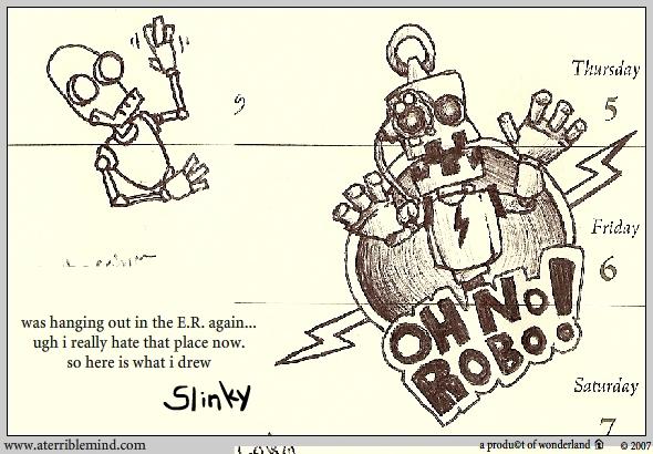 OH NO ROBO!
