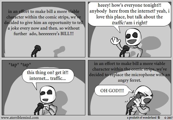 Bill : Open mic