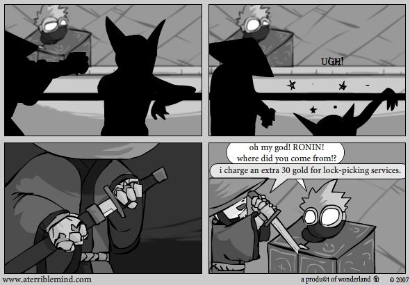 ninja vs goblins : help