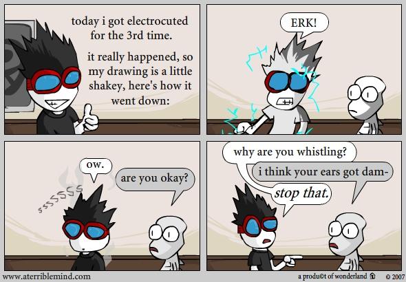 Electrocution = fun