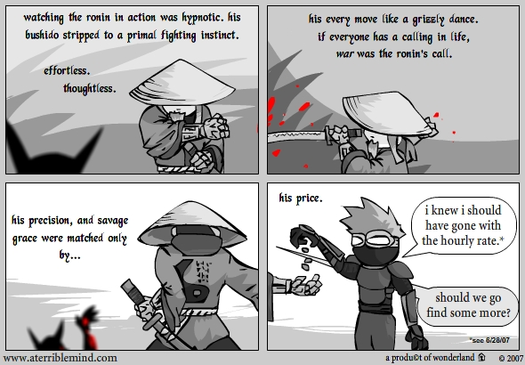 Ninja and Ronin vs Goblins