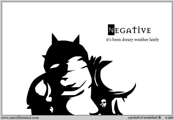 Drawing : Negative