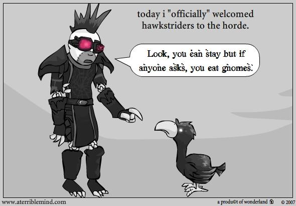 Welcome… you chocobo.