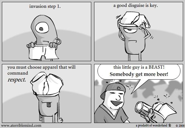Invasion step 1.