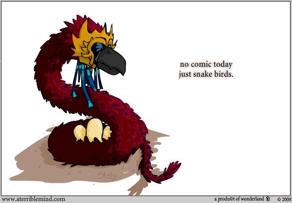 Artsy / snake bird