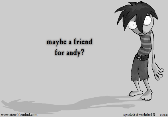Andy's Friend?