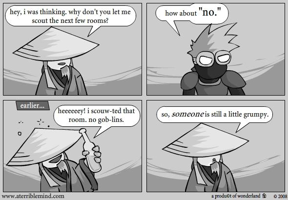 ninja and ronin vs rooms