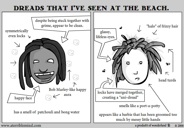 The dreads