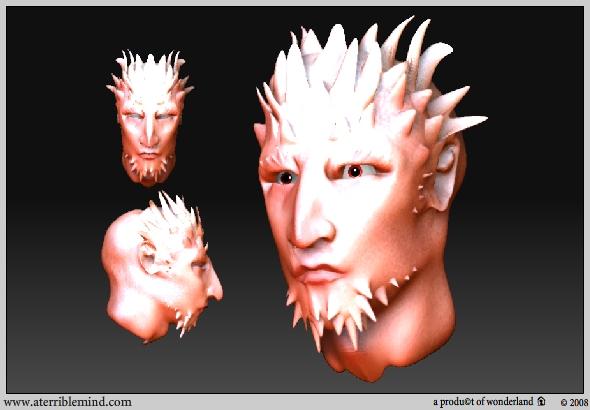 artsy / random head