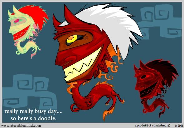Oni Dragon thing