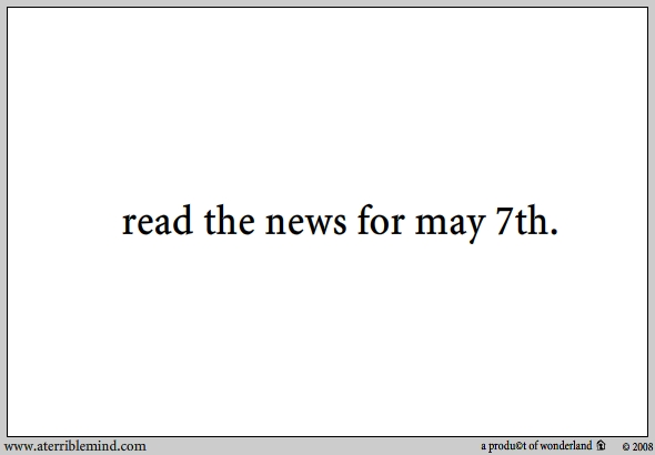read the news