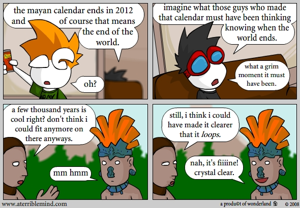 mayans and the end of times