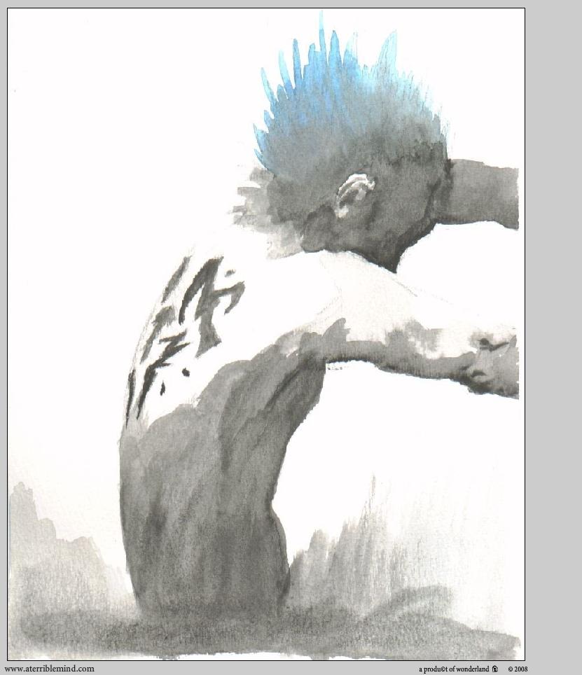still movin – watercolors