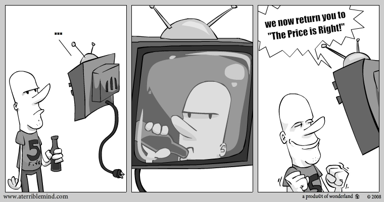 Dave and the TV