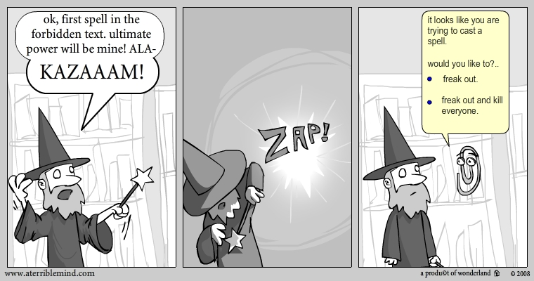 how wizards turn evil