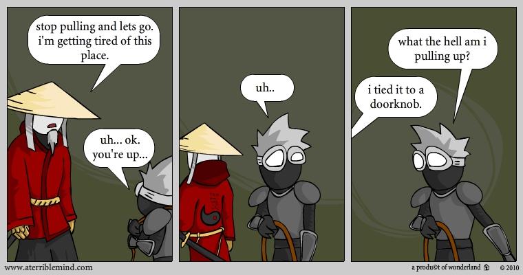 ninja and ronin vs a wall pt.3