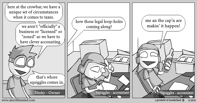 crowbar accounting