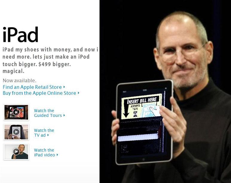 iPad…