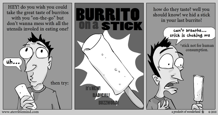 burrito on a stick