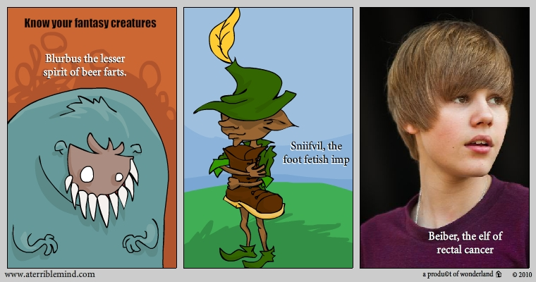know your vile fantasy creatures