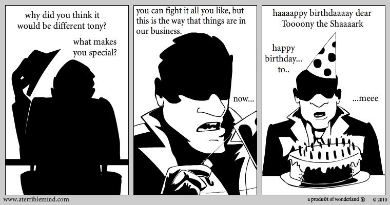 Literal mobsters: good help is hard to find pt.2