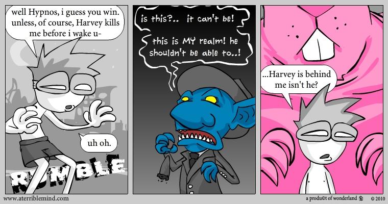 Harvey, challenged pt.11