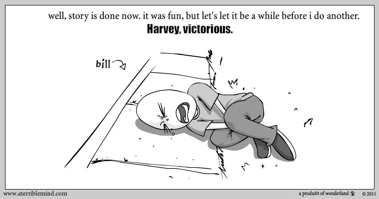 Harvey, Victorious