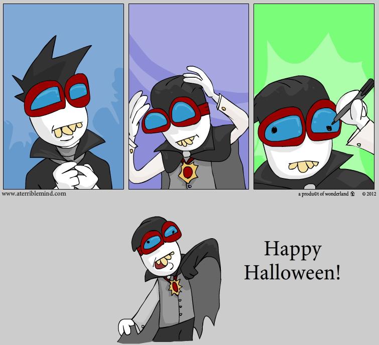 "halloween 2012 ""Dead sexy"""