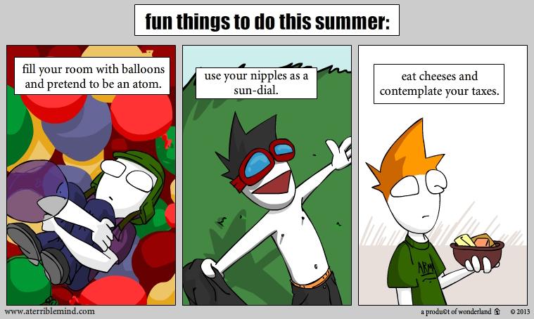 summer fun time!