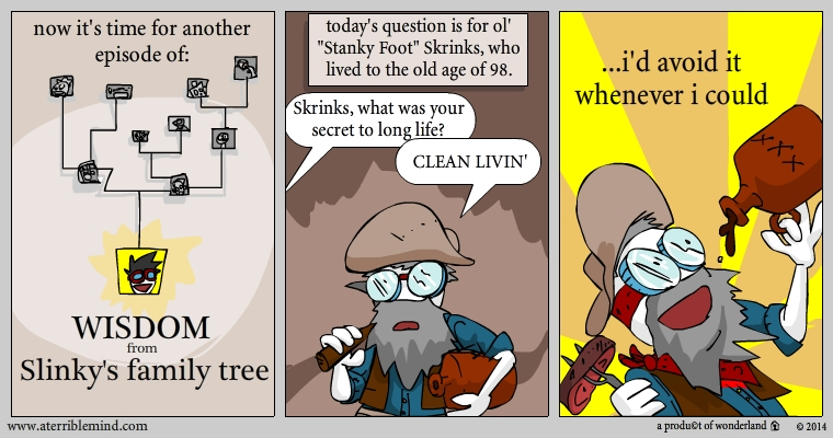 Slinky's family tree: Skrinks