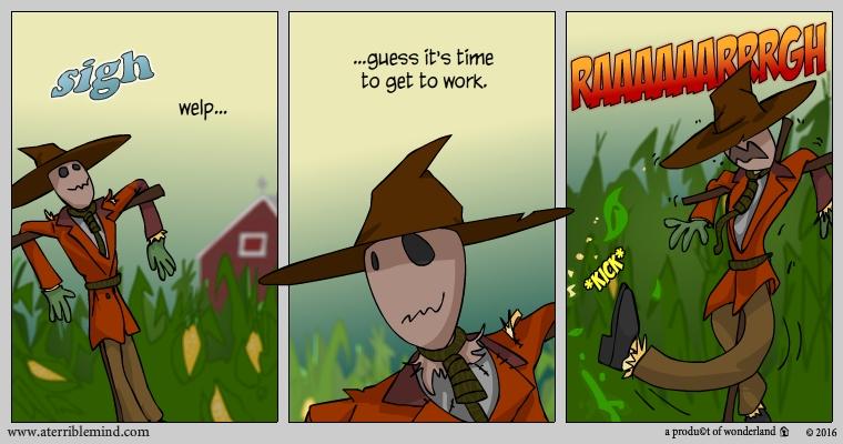 scarecrow comic