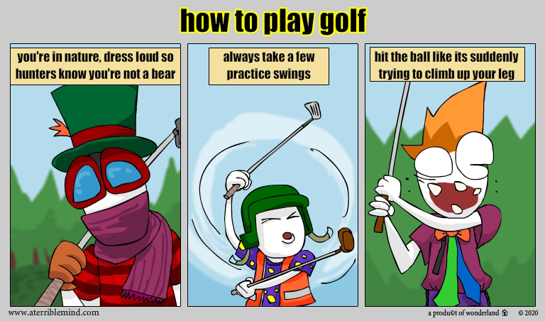 How to: golf